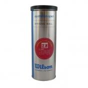 Wilson 维尔胜 AustraOpen 3个装铁筒 澳网专用网球 T1037