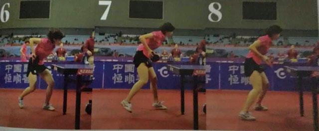 乒乓球发球技术:周昕彤如何发短下旋?