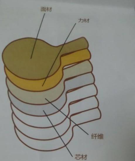 内置纤维底板结构