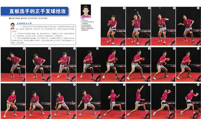 乒乓球技术:如何正确练习发球抢攻战术