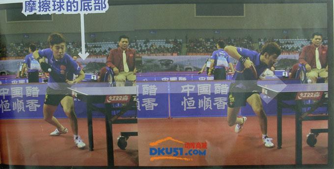 乒乓球发球技术:闫安教你高抛也能发出短下旋!