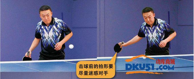 马琳经典乒乓球技术之正手台内进攻