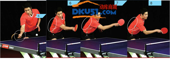 王励勤乒乓球技术:正反手挑打技术
