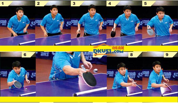乒乓球技术:王皓教你正手摆后接反手撕