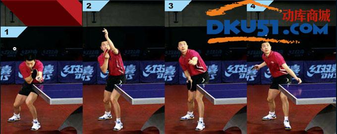 乒乓球发球技术:马龙教你侧上旋和侧下旋的发球