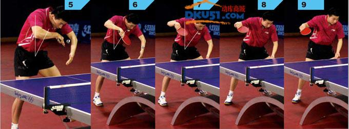 乒乓球发球技术:马龙教你发长短球