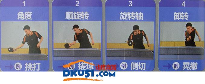 乒乓球技术:无敌上旋接发球