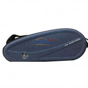 LINING李宁ABJL022 6六支装 双肩羽毛球拍包 蓝灰色款