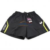 Butterfly蝴蝶乒乓球运动短裤 BWS-327-0204 黑/荧光绿