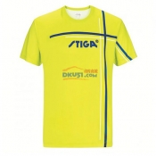STIGA斯帝卡 GA-36151 绿款 印花圆领乒乓球服